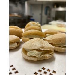 Les mini fouées de chez Josef  au beurre de truffe maison