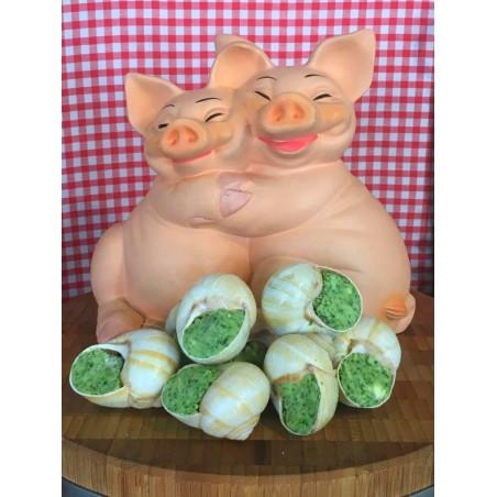 Les escargots de Bourgogne au Beurre de Barrate